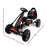 Mighty Racer Kids Pedal Powered Go Kart | Black