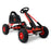 Mighty Racer Kids Pedal Powered Go Kart | Lava Red