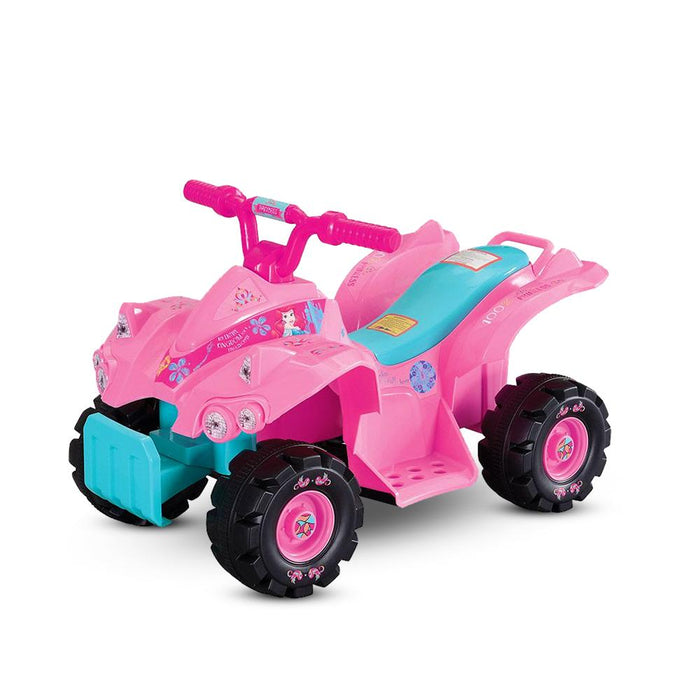 Disney Princesses Licensed Kids Ride On Quad Bike | Pink
