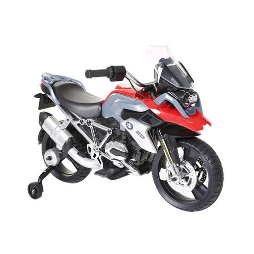BMW R 1200 GS Licensed Kids Ride On Motorbike Motorcycle | Black/Red - Dealzilla.com.au