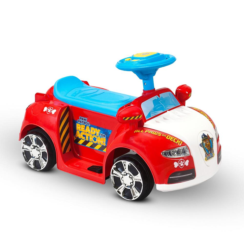 Paw Patrol Licensed Kids Ride On Car | Red/White