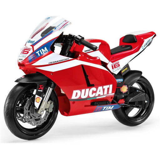 Peg Perego Officially Licensed Ducati Moto GP Kids Ride On Motorbike | Racing Red