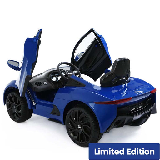 Jaguar C-X75 Licensed Kids Ride On Car Racing Blue