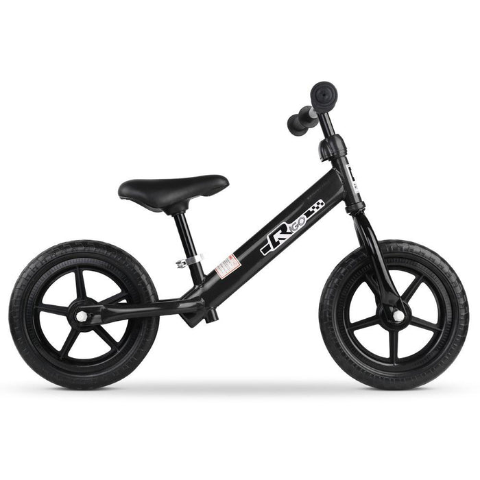 Track Star 12 Inch Kids Balance Bike | Black