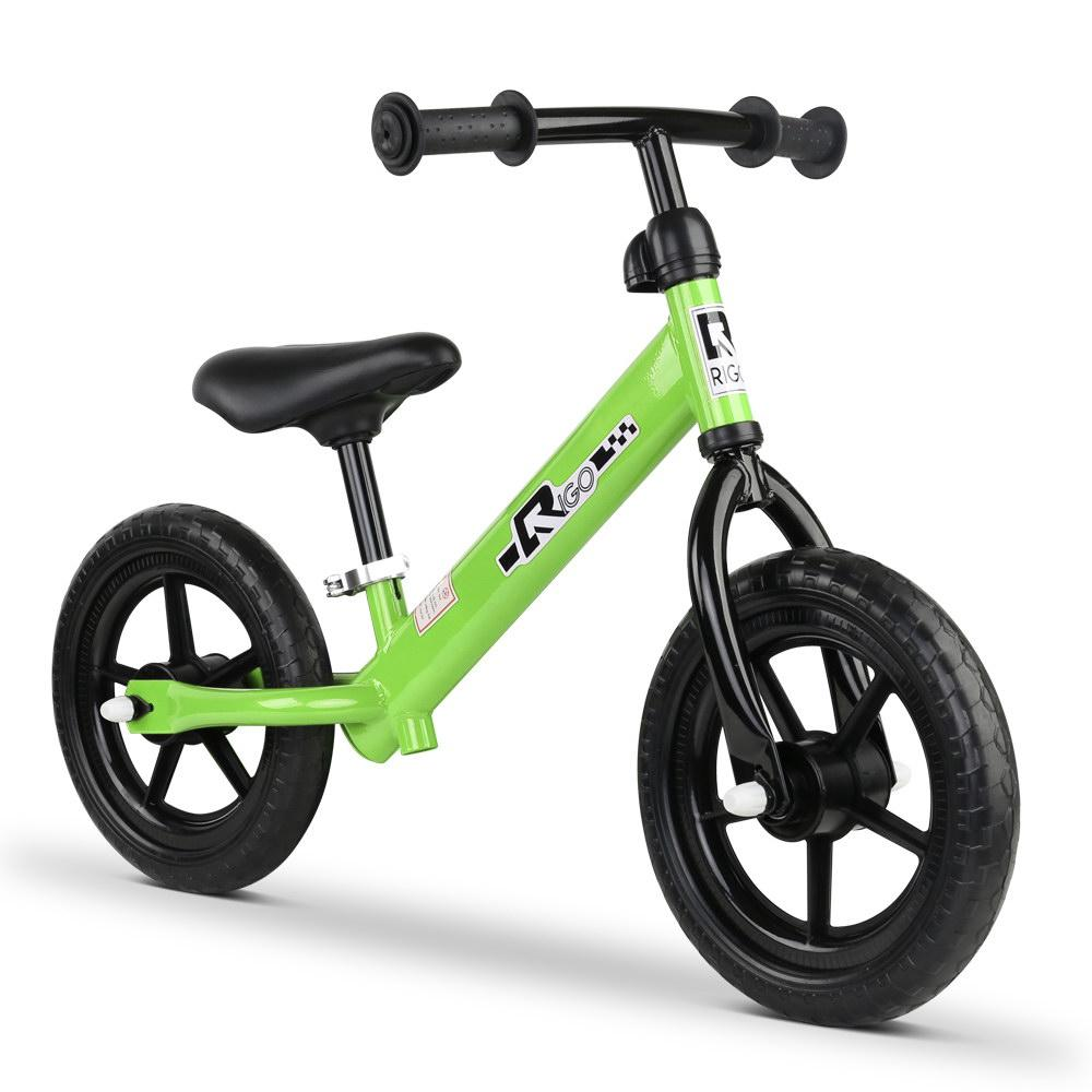 Track Star 12 Inch Kids Balance Bike | Lime Green