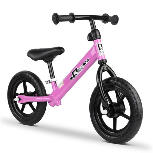 Track Star 12 Inch Kids Balance Bike | Princess Pink