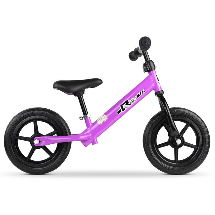 Track Star 12 Inch Kids Balance Bike | Fairy Purple