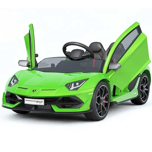 Lamborghini Aventador Officially Licensed Kids Ride On Car | Slime Green