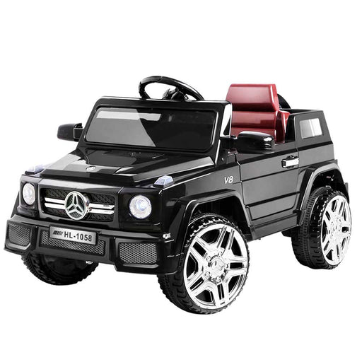 Mercedes Benz G50 Inspired Kids Ride On Car with Remote Control Black