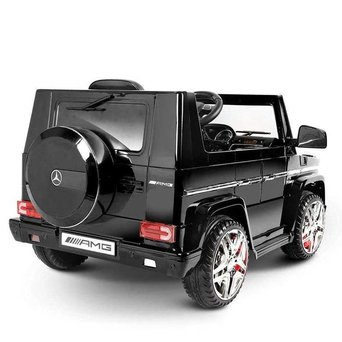 Mercedes Benz G65 AMG Licensed Kids Ride On Car with Remote Control_Black