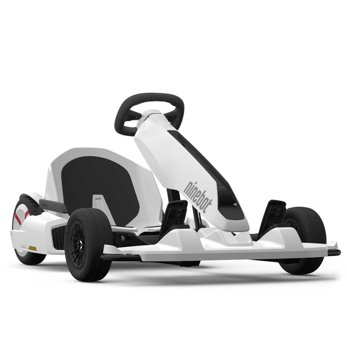 Ninebot Go Kart Kit for Ninebot S Personal Transport by SEGWAY | White