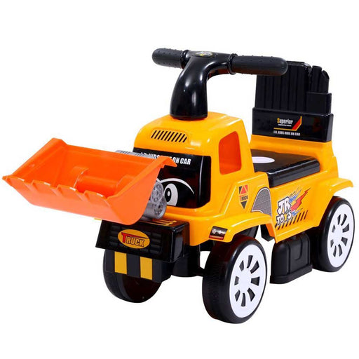 Construction Inspired Kids Ride On Car Excavator | Yellow