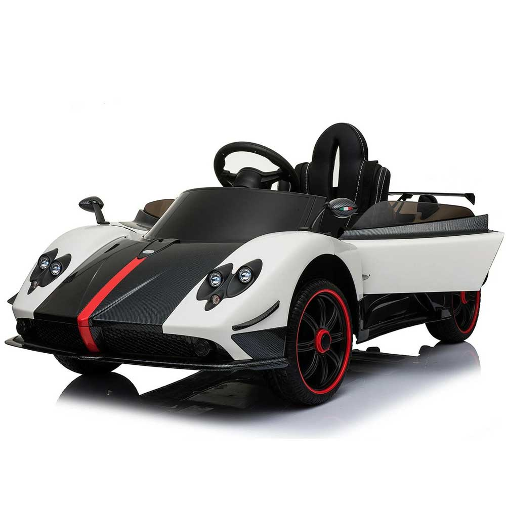 Pagani Zonda Inspired Kids Ride On Car | White