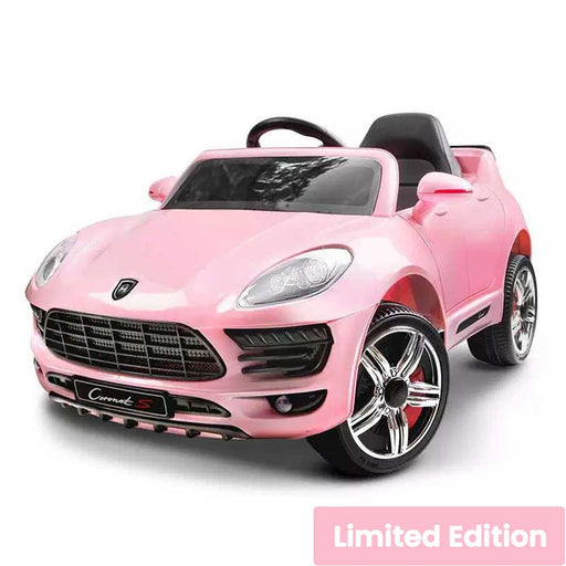 Porsche Macan GTS Inspired Kids Ride On SUV with Remote Control Soft Pink
