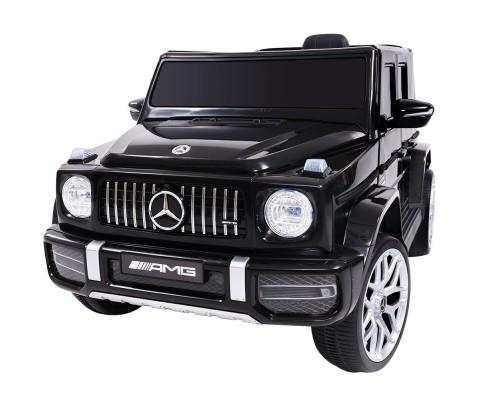 Mercedes Benz G63 AMG Licensed Kids Ride On Car with Remote Control | Black