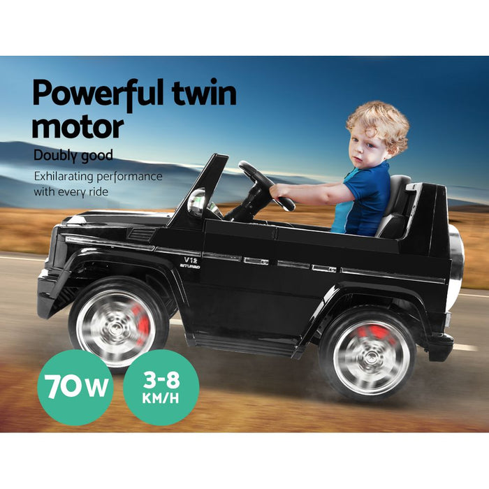 Mercedes Benz G65 AMG Licensed Kids Ride On Car with Remote Control | Black