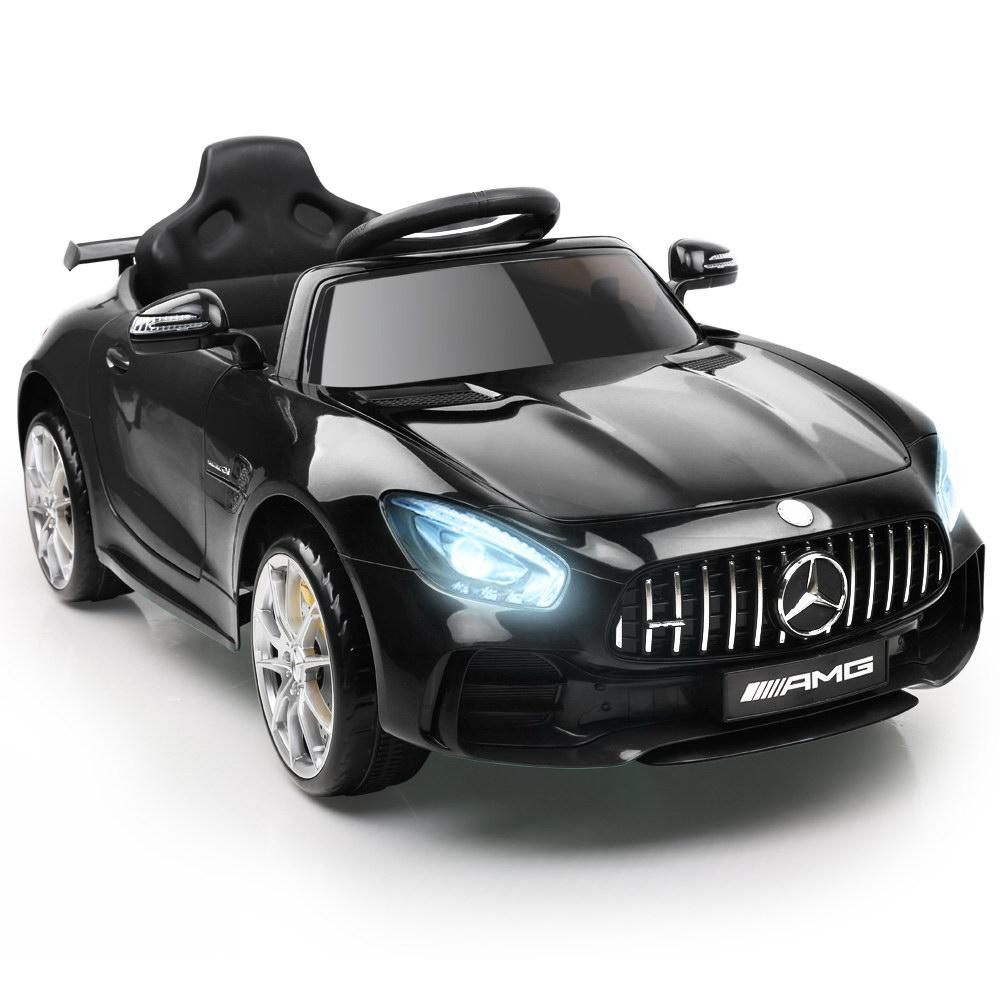 Mercedes Benz AMG GT R Licensed Kids Ride On Car with Remote Control | Black