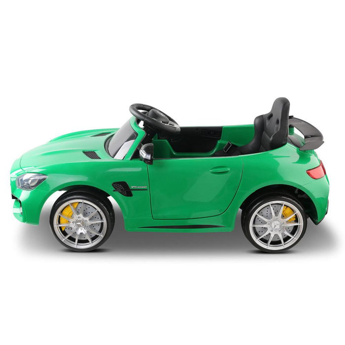 Mercedes Benz AMG GT R Licensed Kids Ride On Car with Remote Control | Green (Limited Edition)