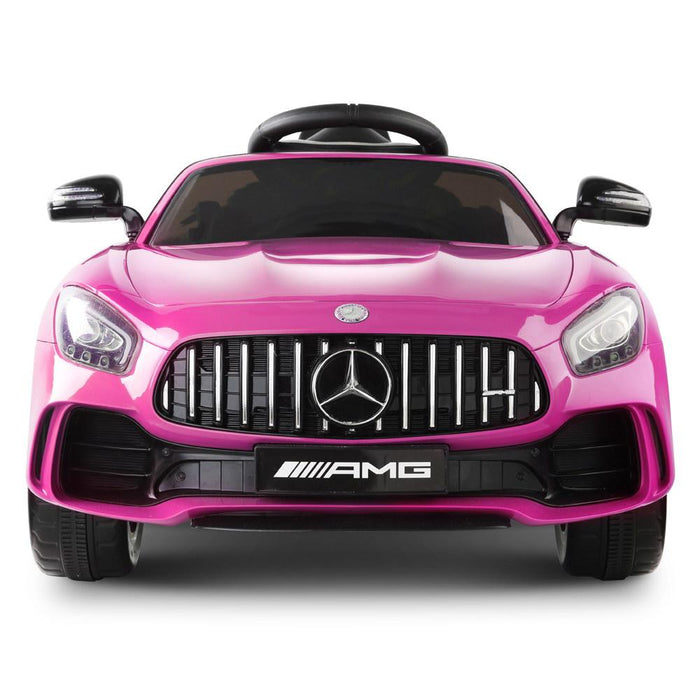 Mercedes Benz AMG GT R Licensed Kids Ride On Car with Remote Control | Candy Pink (Limited Edition)