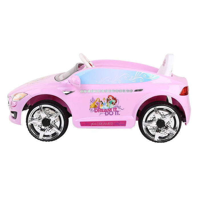 Disney Princesses Licensed Kids Ride On Car | Pink