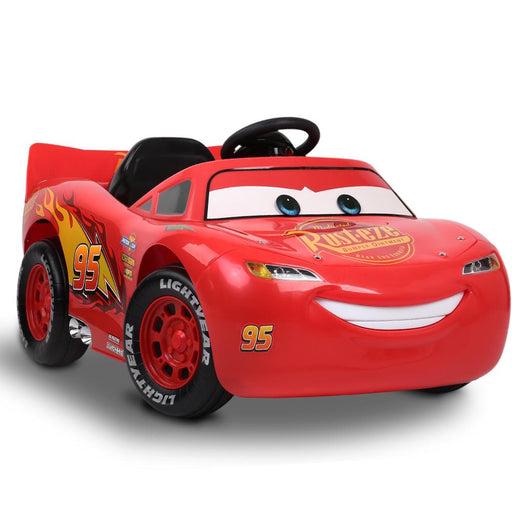 Disney Licensed Lightning McQueen Kids Ride On Car | Red (Ka-Chow) - Dealzilla.com.au