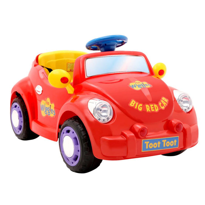 The Wiggles Kids Ride On Car | Big Red Car