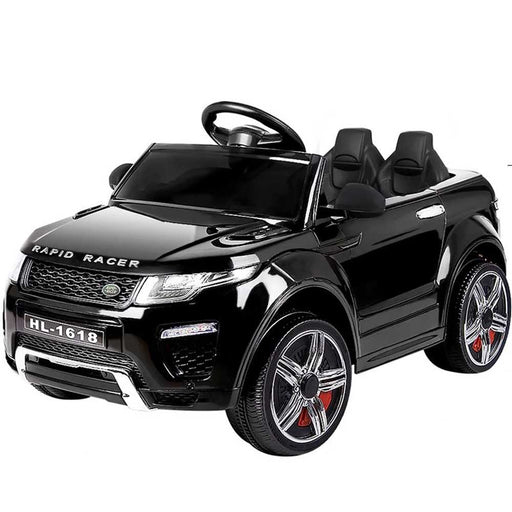 Range Rover Evoque Inspired Kids Ride On Car with Remote Control | Black (Limited Edition)