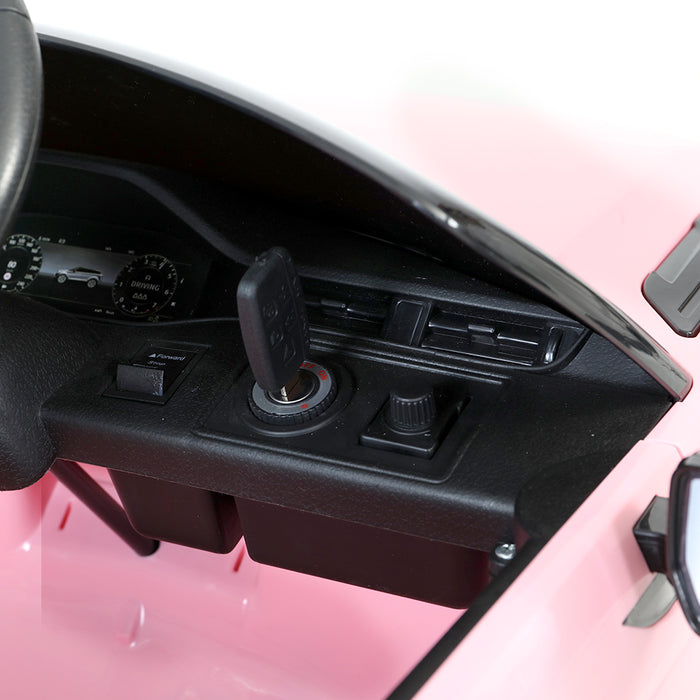 Range Rover Evoque Officially Licensed Kids Ride On Car with Remote Control |  Pink