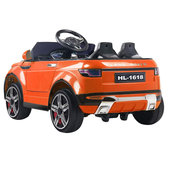 Range Rover Evoque Inspired Kids Ride On Car with Remote Control | Flame Orange