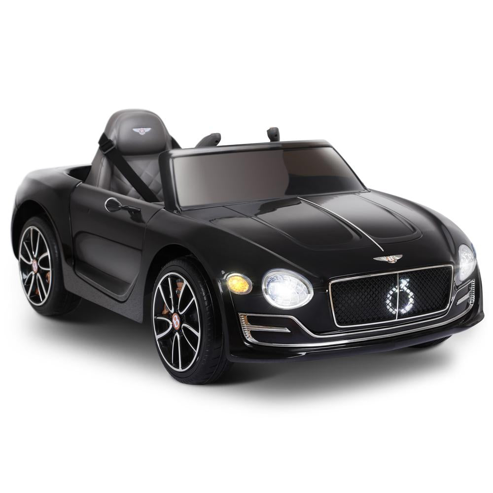 Bentley EXP Licensed Kids Ride On Car with Remote Control | Black