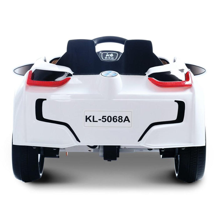 BMW i8 Inspired Kids Ride On Car with Remote Control | White