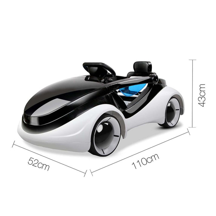iRobot Inspired Kids Ride On Car with Remote Control | White