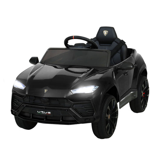 Lamborghini Officially Licensed URUS Kids Ride On Car with Remote Control | Deep Black