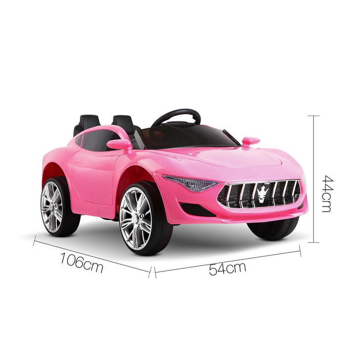 Maserati Inspired Kids Ride On Car with Remote Control | Pink (Limited Edition)