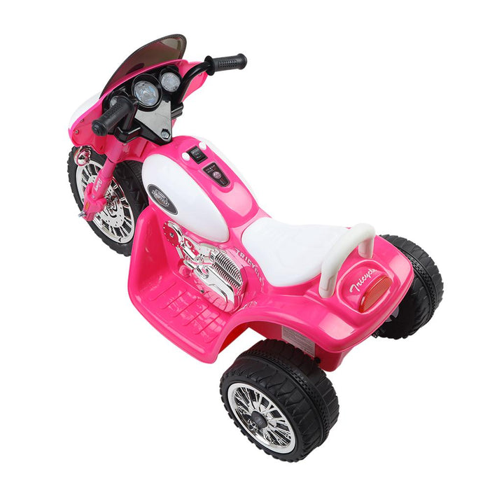 Harley Davidson Inspired Kids Ride On Motorbike Motorcycle | Pink (Police)