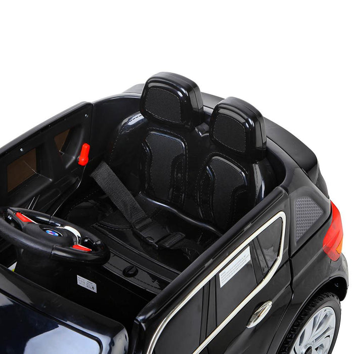 Audi Q7 Inspired Kids Ride On SUV with Remote Control | Black - Dealzilla.com.au