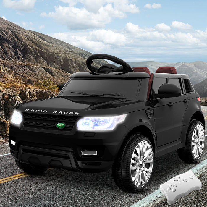 Range Rover Inspired Kids Ride On Car with Remote Control |  Black
