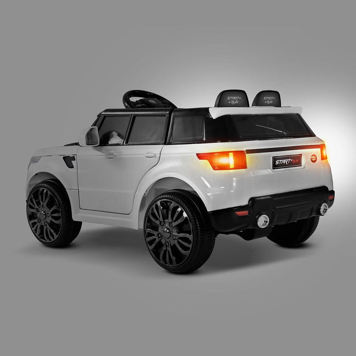 Range Rover Inspired Kids Ride On Car with Remote Control |  Pearl White