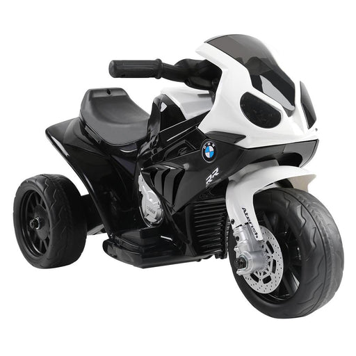 BMW Licensed S1000RR Kids Ride On Motorbike Motorcycle | Black - Dealzilla.com.au