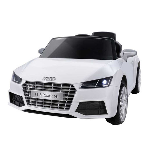 Audi TT RS Roadster Licensed Kids Ride On Car | Black