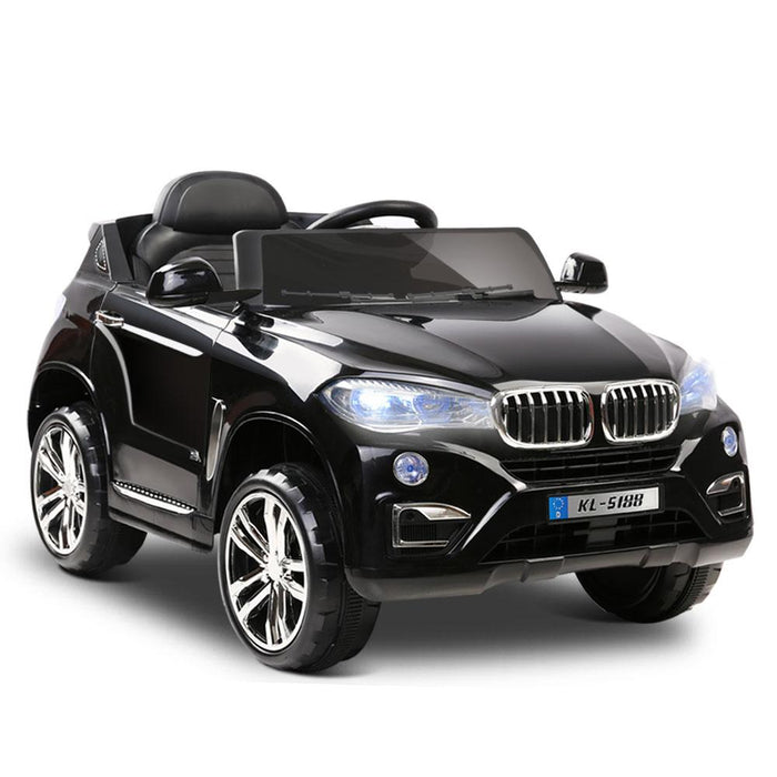 BMW X5 Inspired Kids Ride On SUV with Remote Control | Black - Dealzilla.com.au