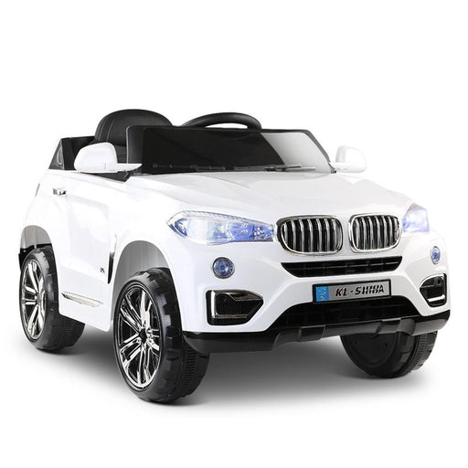BMW X5 Inspired Kids Ride On SUV with Remote Control | White