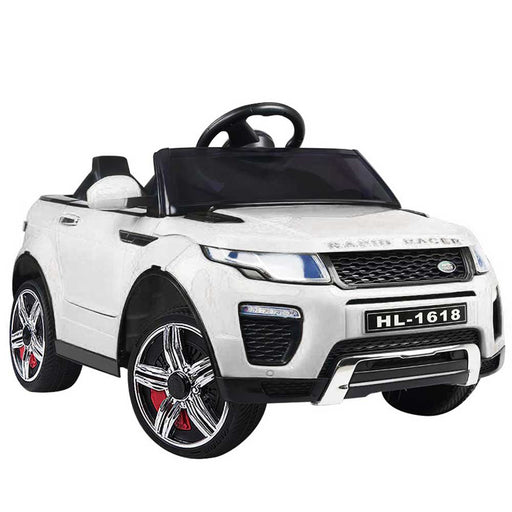 Range Rover Evoque Inspired Kids Ride On Car with Remote Control White
