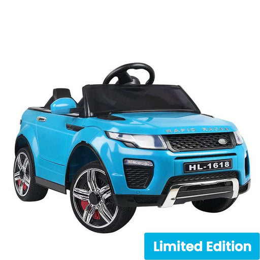 Range Rover Evoque Inspired Kids Ride On Car with Remote Control | Sky Blue