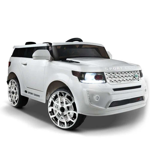 Range Rover Inspired Kids Ride On Car with Remote Control White
