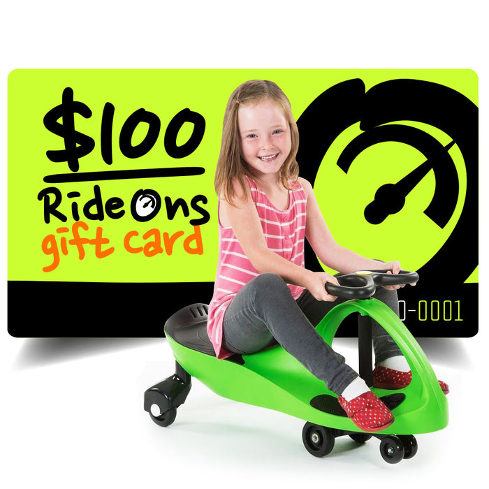 $100.00 AUD RideOns Gift Card