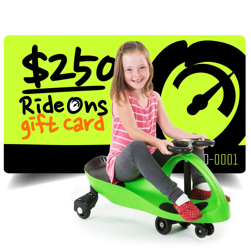 $250.00 AUD RideOns Gift Card