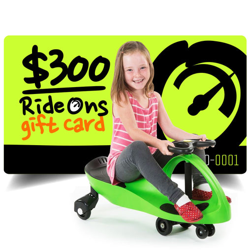 $300.00 AUD RideOns Gift Card