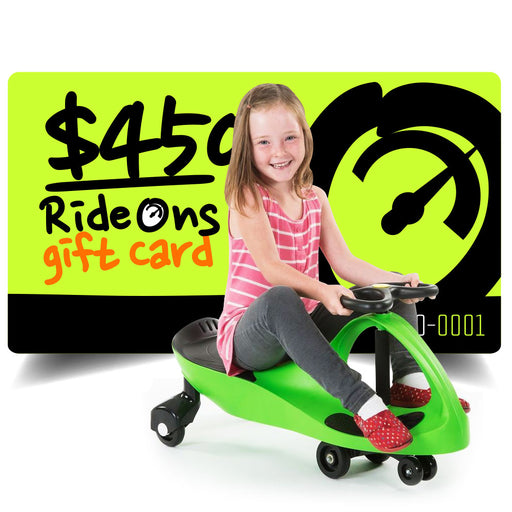 $450.00 AUD RideOns Gift Card