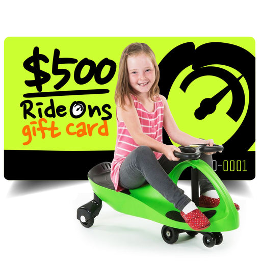 $500.00 AUD RideOns Gift Card